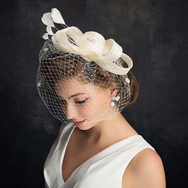 Bridal, bride, wedding, fascinator, hat, headpiece, mother of the bride
