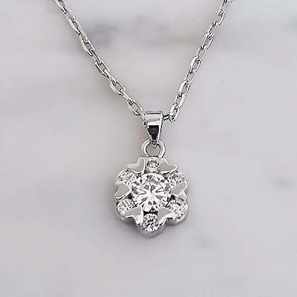 Angelic bridal necklace, bridesmaid necklace, flowergirl necklace