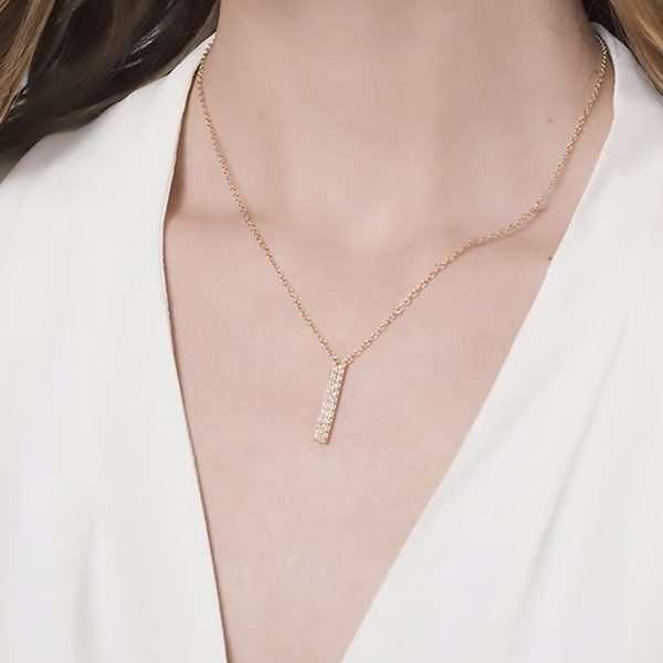 Pave jewellery set
