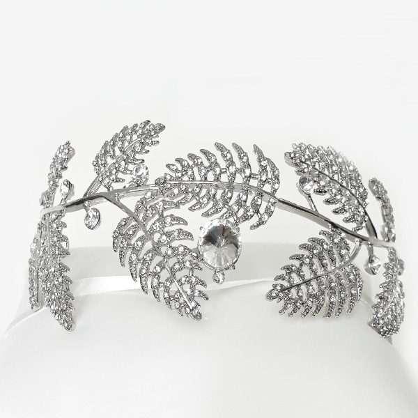 Bridal headband, debutante headband