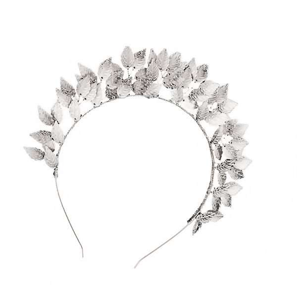 Spring carnival races, leaf headband, leaf fascinator