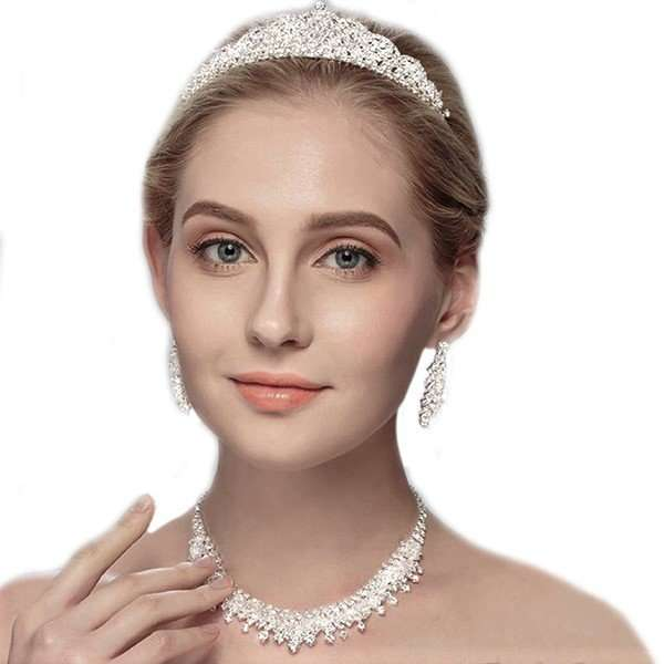 Bridal headpiece 3 piece set Australia online
