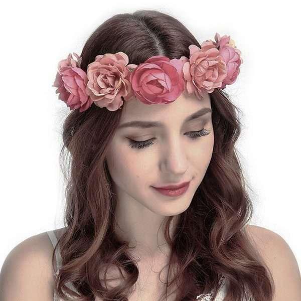 Floral fascinator
