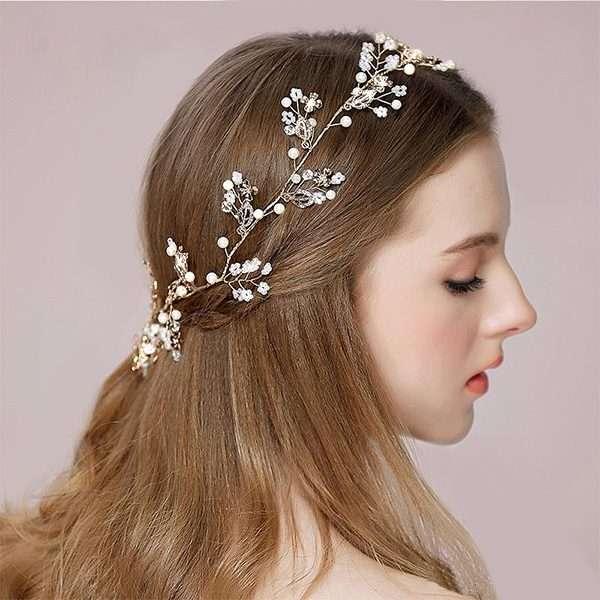 Bride Hairvine, hair vine, hairpieces, bridal, Australia, Melbourne, Hillside