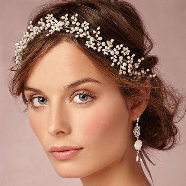 Hair vine Ilaria fresh water pearl
