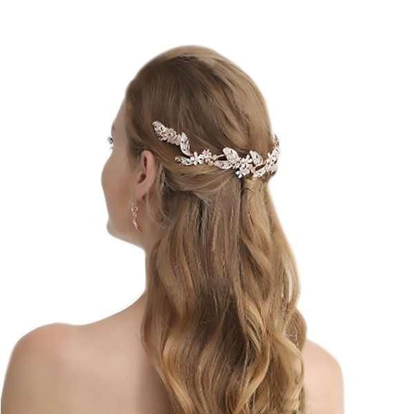 wedding accessories, bridal hair vine