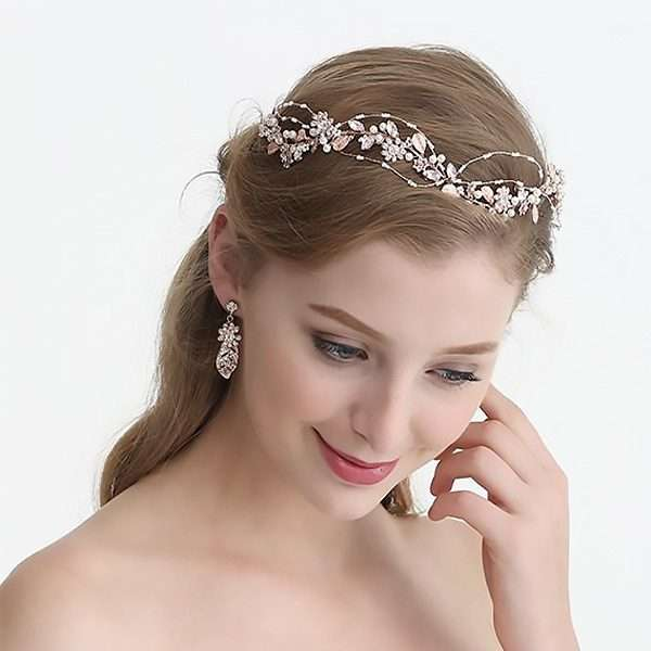 wedding hair vine, bridal accessory