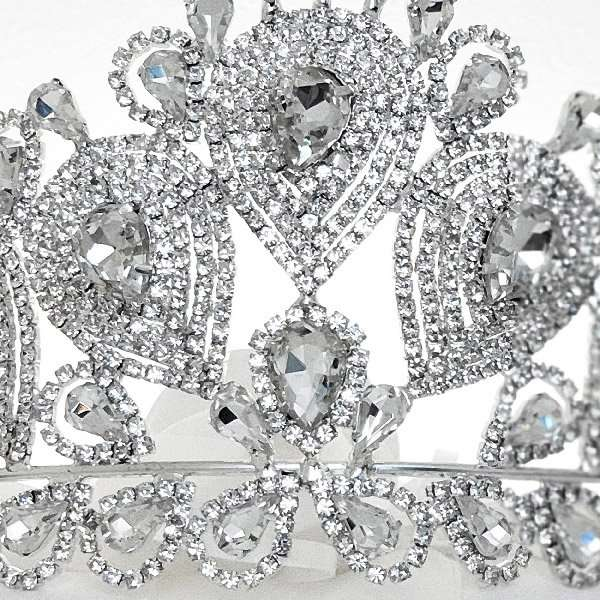 Bridal crystal crown