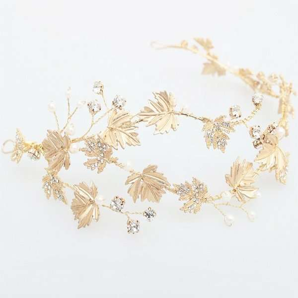 Wedding accessories, bridal headband, hair vine