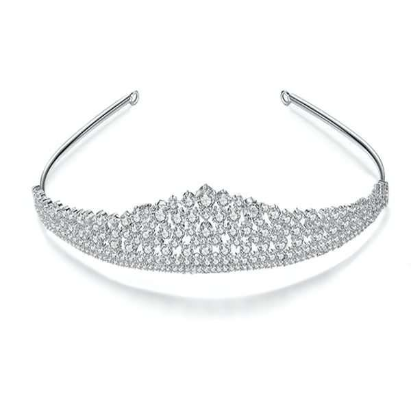 Bridal tiara, wedding crown
