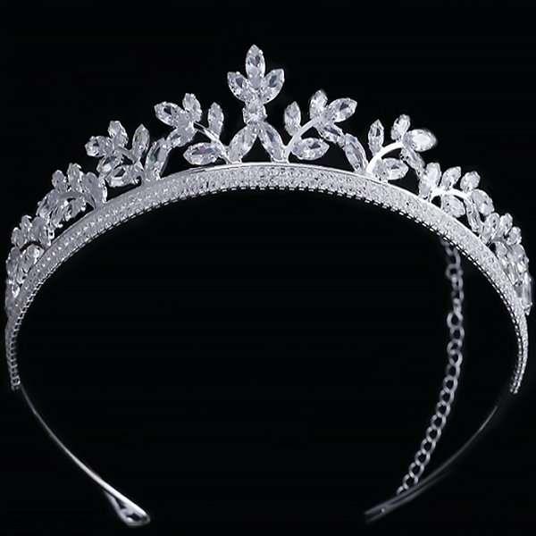 Chantilly Crystal Bridal Crown