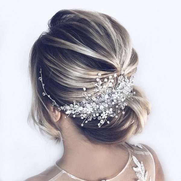 Bridal and debutante hair vine