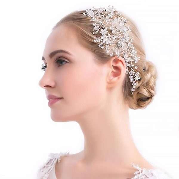 Astoria headpiece Pearl