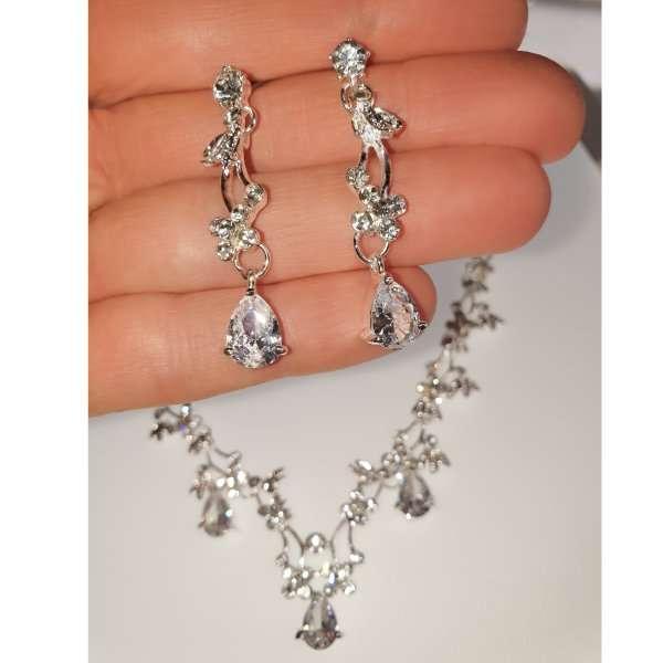 Bridal crystal set