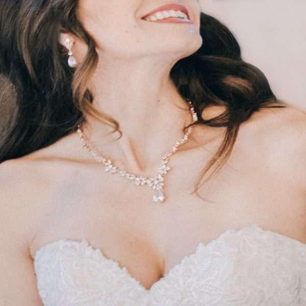 Clarisse Rose Bridal Jewellery Set
