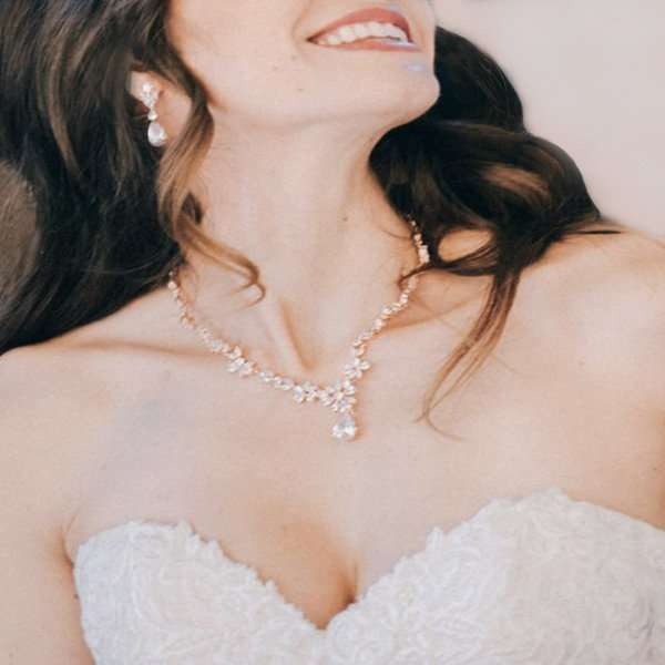 Clarisse Rose Bridal Jewellery Set