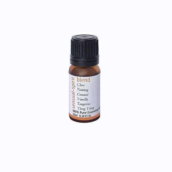 Essential oil blend for the sensual spirit