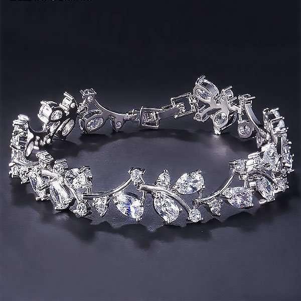 Bridal jewellery, bridesmaids bracelet, debutante bracelet