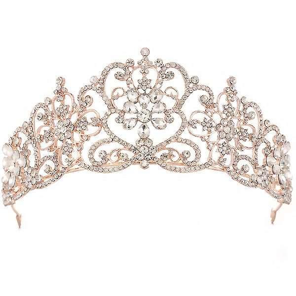 Rose GOld Bridal Crown