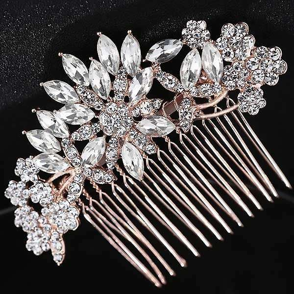 Daisy Rose Haircomb