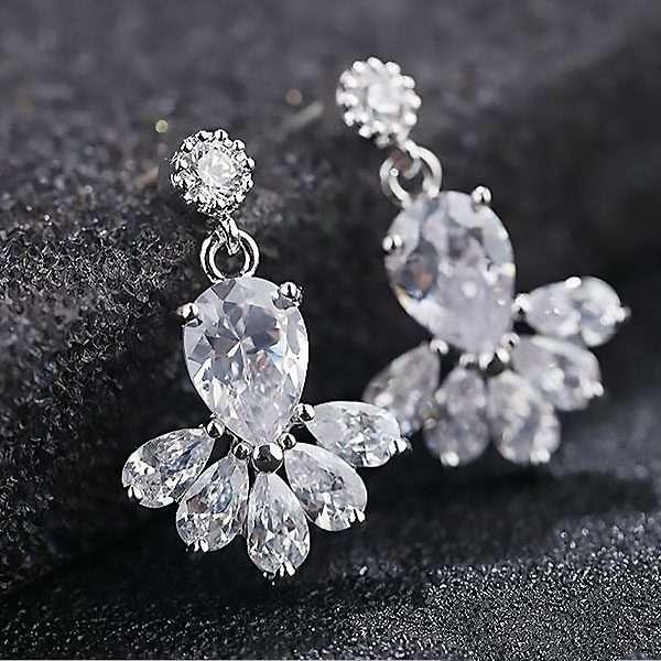 Cubic Zircon earrings