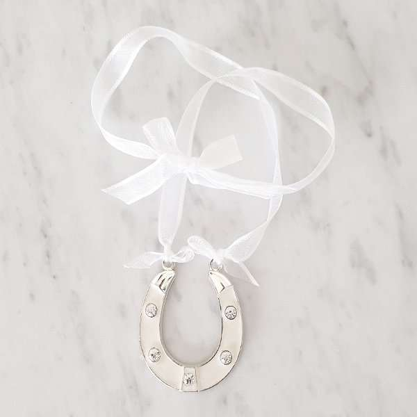 Wedding charm with mother of pearl