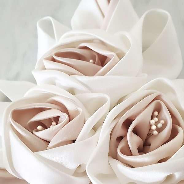 Rosette floral applique