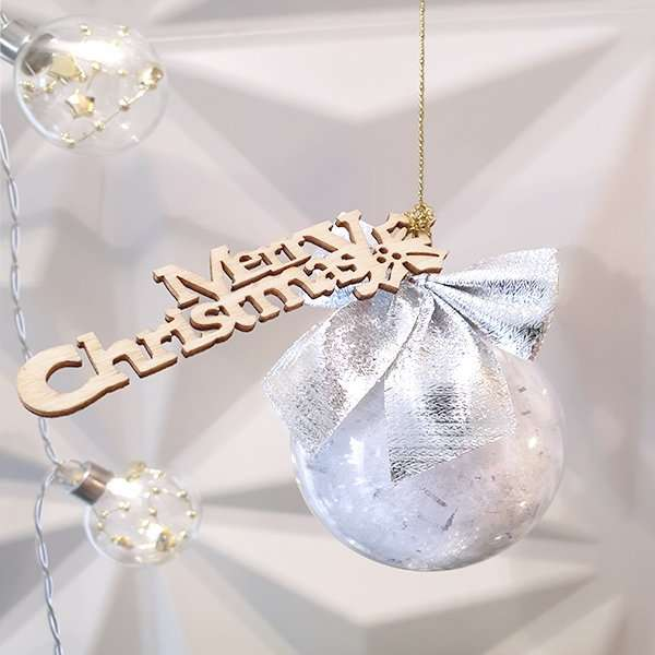 Christmas wrapped in a bauble